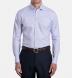 Non-Iron Supima Lavender and Blue Multi Gingham Shirt Thumbnail 3
