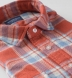 Japanese Washed Tomato and Sky Country Plaid Shirt Thumbnail 2