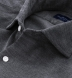 Canclini Dark Grey Melange Corduroy Shirt Thumbnail 2