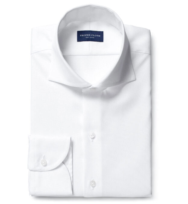 Mayfair Extra Wrinkle-Resistant White Pinpoint
