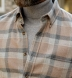 Canclini Camel Plaid Beacon Flannel Shirt Thumbnail 5
