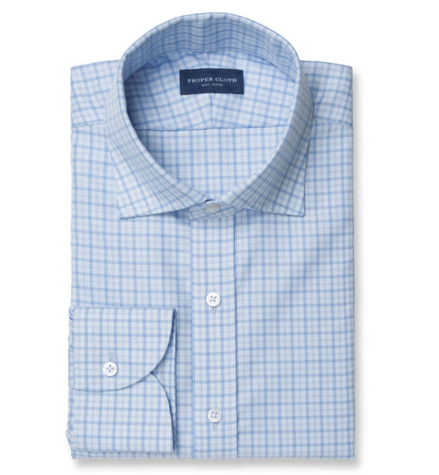 Mayfair Wrinkle-Resistant Blue Multi Check