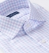 Mayfair Wrinkle-Resistant Lilac and Blue Check Shirt Thumbnail 2