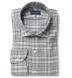 Satoyama Light Grey Plaid Flannel Shirt Thumbnail 1
