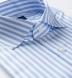 DJA Sea Island Light Blue Bengal Stripe Shirt Thumbnail 2