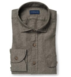 Albini Washed Fatigue Linen Twill