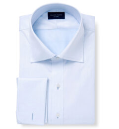 DJA Sea Island Blue Royal Twill Men's Dress Shirt