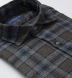 Canclini Pine and Grey Ombre Plaid Beacon Flannel Shirt Thumbnail 2