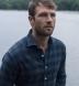 Canclini Navy and Grey Plaid Beacon Flannel Shirt Thumbnail 4