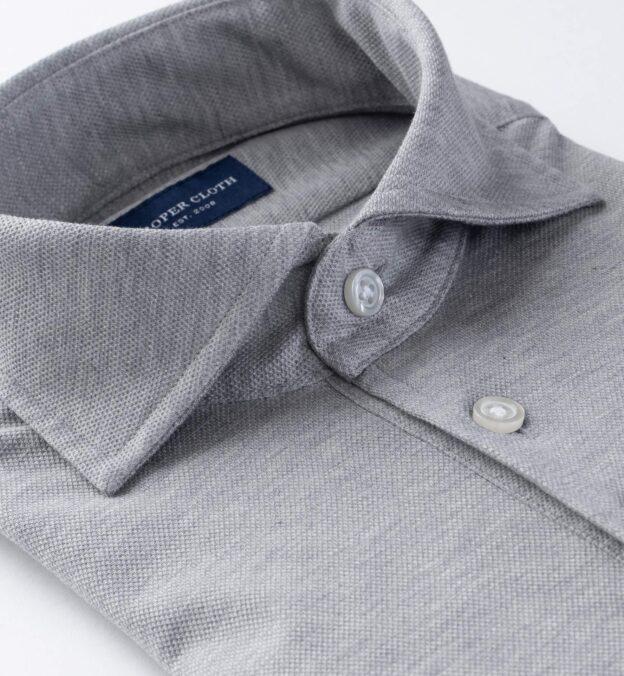 Canclini Melange Grey Polo