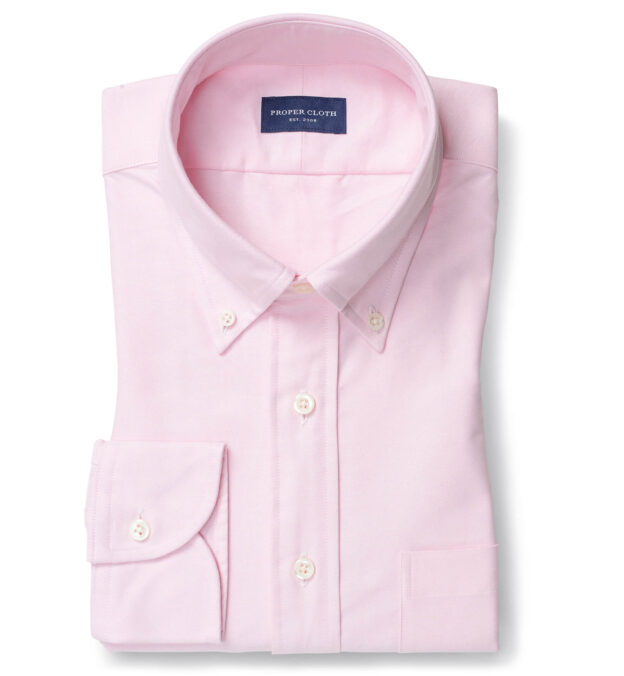 Light Pink Heavy Oxford Button Down