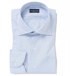 Mercer Light Blue Pinpoint Tailor Made Shirt