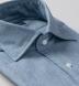 Blue Indigo Chambray Soft Roma Spread Shirt Thumbnail 2