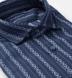 Portuguese Navy and Light Blue Aztec Stripe Shirt Thumbnail 2