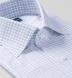 Novara Grey and Light Blue Multi Check Shirt Thumbnail 2