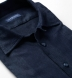 Canclini Navy and Grey Wide Stripe Beacon Flannel Shirt Thumbnail 2