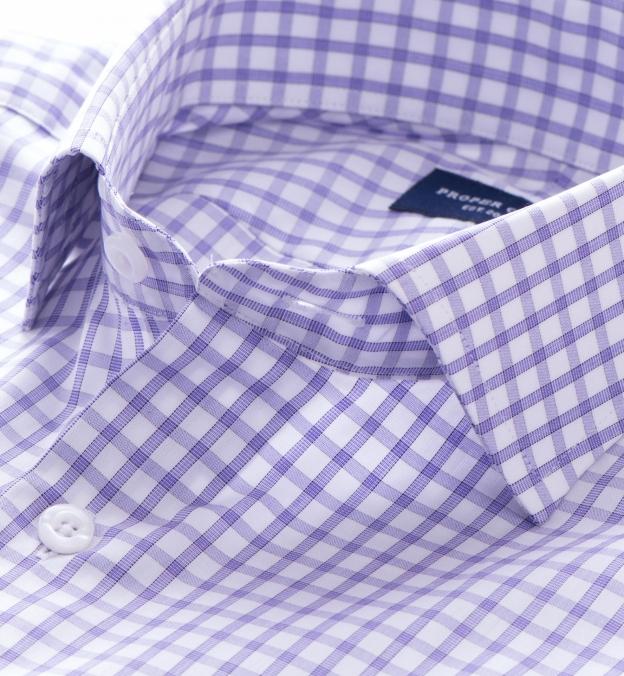 Thomas Mason Lavender Grid