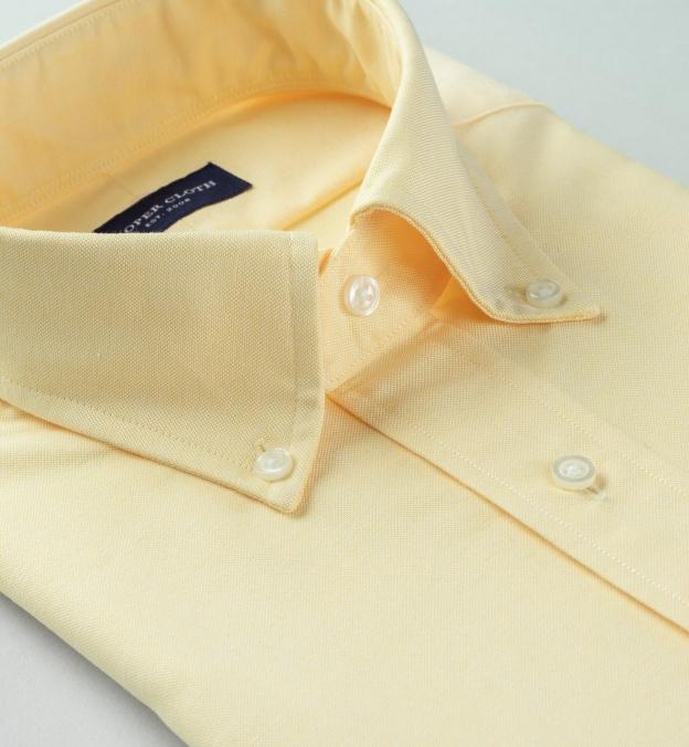 American Pima Yellow Heavy Oxford