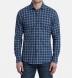Whistler Slate and Light Blue Windowpane Flannel Shirt Thumbnail 3