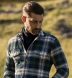 Green and Blue Plaid Country Flannel Shirt Thumbnail 3