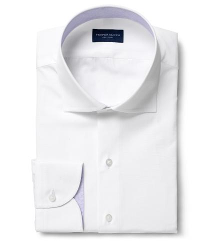 Thomas Mason White Luxury Broadcloth