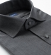 Reda Dark Grey Melange Merino Wool Shirt Thumbnail 2