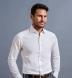 Thomas Mason Non-Iron White 100s Twill Shirt Thumbnail 3