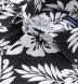 Japanese Black and White Aloha Floral Shirt Thumbnail 2