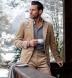 Reda Light Grey Melange Merino Wool Jersey Knit Shirt Thumbnail 4
