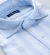 Amalfi Light Blue Tonal Stripe Pique Shirt Thumbnail 2