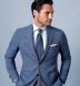 Thomas Mason Goldline Blue 3-Ply Oxford Shirt Thumbnail 2