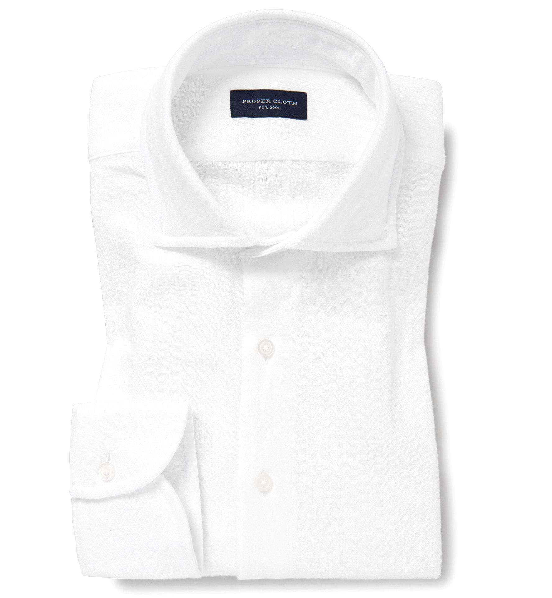 Japanese white vintage herringbone custom dress shirt by for White herringbone dress shirt