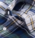 Green and Blue Plaid Country Flannel Shirt Thumbnail 2