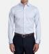 Non-Iron Supima Light Blue Twill French Cuff Shirt Thumbnail 3