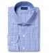Charles Light Blue Multi Gingham Shirt Thumbnail 1