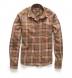 Japanese Brown and Navy Country Plaid Shirt Thumbnail 4