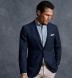 Thomas Mason Washed Light Blue Stripe Cotton Linen Oxford Shirt Thumbnail 3