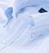 Portuguese Light Blue Vintage Stripe Cotton Linen Blend Shirt Thumbnail 2