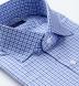 Charles Light Blue Multi Gingham Shirt Thumbnail 2