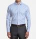 Thomas Mason Non-Iron Blue Gingham Shirt Thumbnail 3