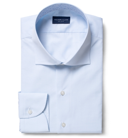 Stanton 120s Light Blue Broadcloth