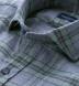 Satoyama Sage and Slate Plaid Flannel Shirt Thumbnail 2