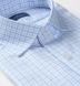 Mayfair Wrinkle-Resistant Blue Multi Check Shirt Thumbnail 2