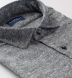 Canclini Light Grey Tweed Flannel Shirt Thumbnail 2