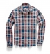 Navy and Red Indian Madras Shirt Thumbnail 3