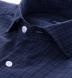 Thompson Navy and Blue Plaid Shirt Thumbnail 2