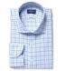 Lucca Blue Multi Gingham Shirt Thumbnail 1