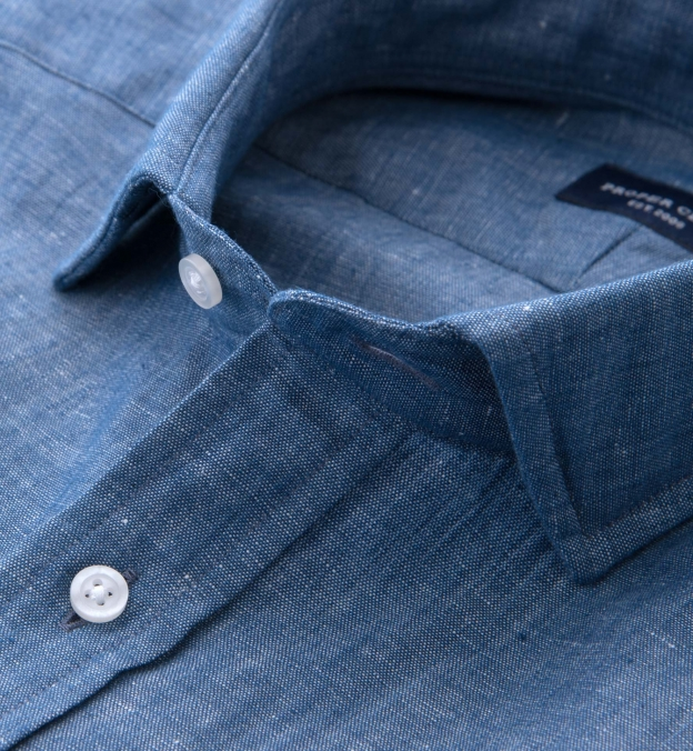 Japanese Cotton and Linen Chambray