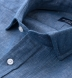 Japanese Cotton and Linen Chambray Shirt Thumbnail 2