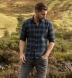 Canclini Slate Ombre Plaid Flannel Shirt Thumbnail 3